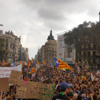 manifestacio, estudiants, republica, referendum, 1o