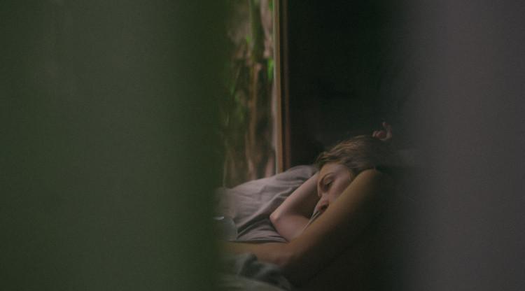 Una dona, al llit. Jordan Bauer (Unsplash)